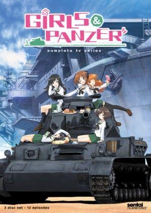 Girls und Panzer DVD Complete TV Series (Hyb)