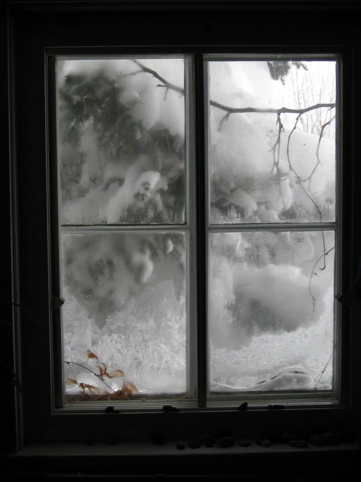 snow outside window ø º w ndὄw v ϛ ὄnϛ º ø