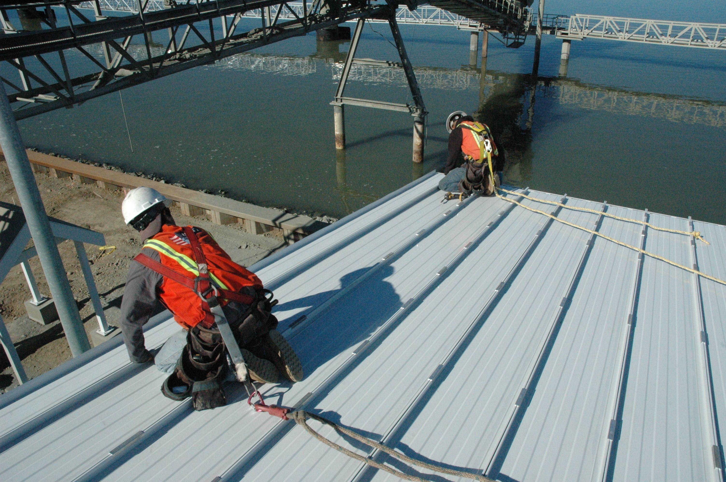 Installing lowslope metal roofing dengan gambar