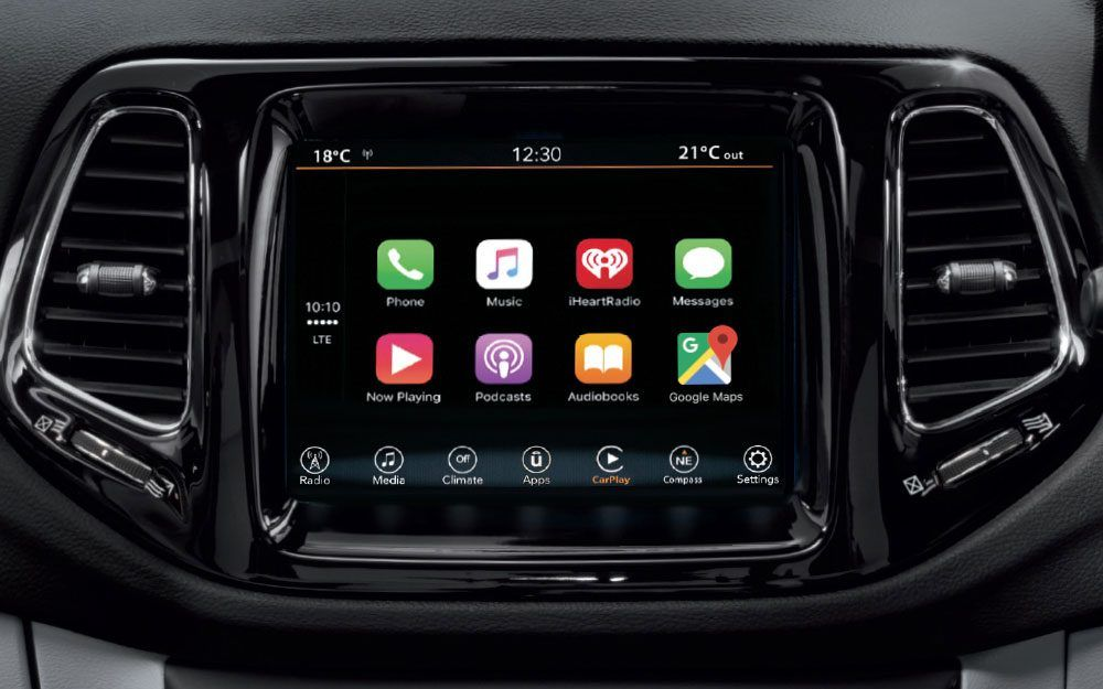 Features Uconnect Jeep Compass Compass Jeep Dealer