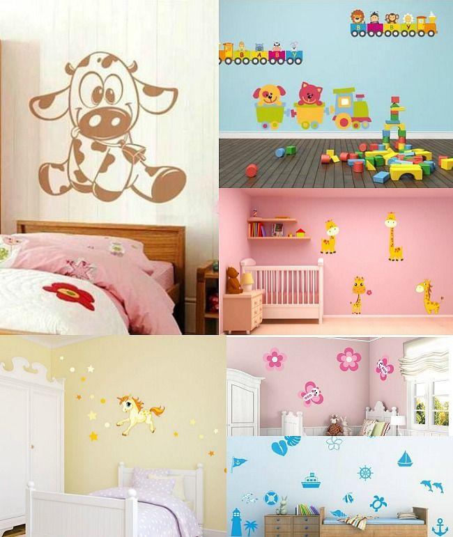 Papel pintado y cortinas a juego | Decorar habitacion infantil ...