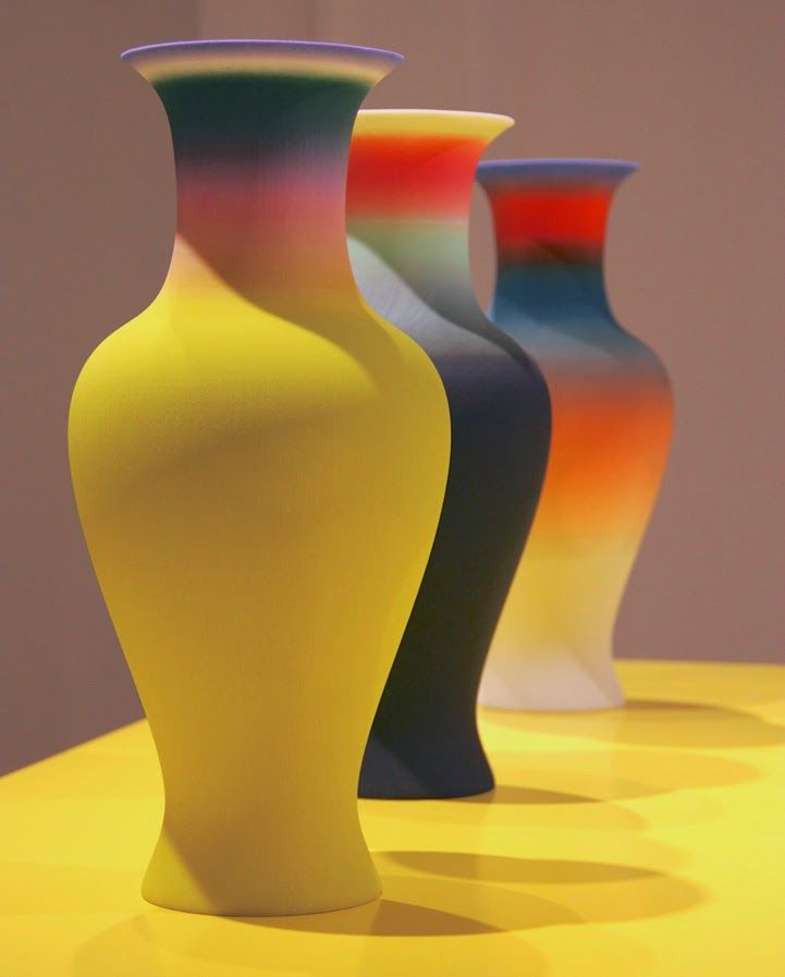 Family vase by Studio Droog (http://www.droog.com/), part of the New Original Project - a series of 3D printed vases.
