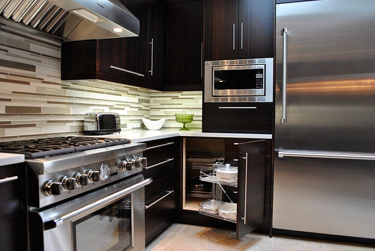 custom modern kitchen cabinets. Modern Kitchen Bamboo Cabinets Long Handles And Glass Window  HOUSE IDEAS Pinterest cabinets Toronto and Kitchens
