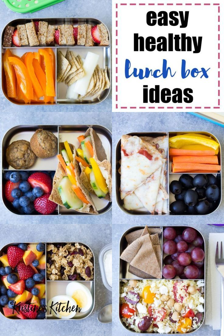 10 Extra-Easy and Healthy Lunch Ideas for Kids   Easy