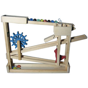 Click Here To View Larger Image Marble Machine Wooden