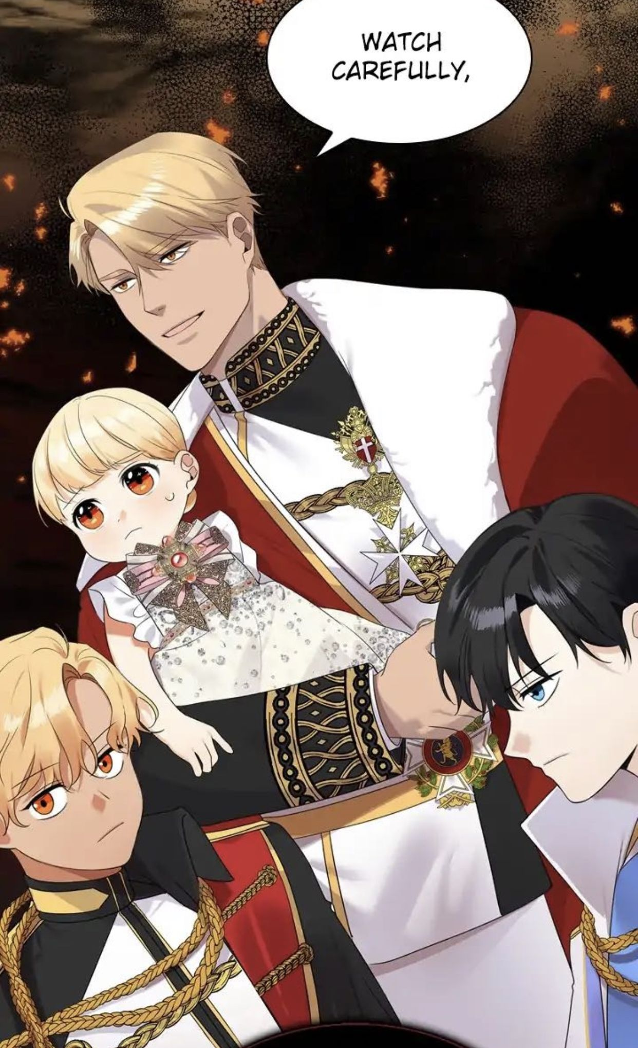 The Youngest Princess Webtoon Anime Princess Romantic Anime Anime