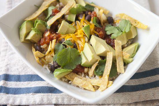 Easy Chipotle Burrito Bowl