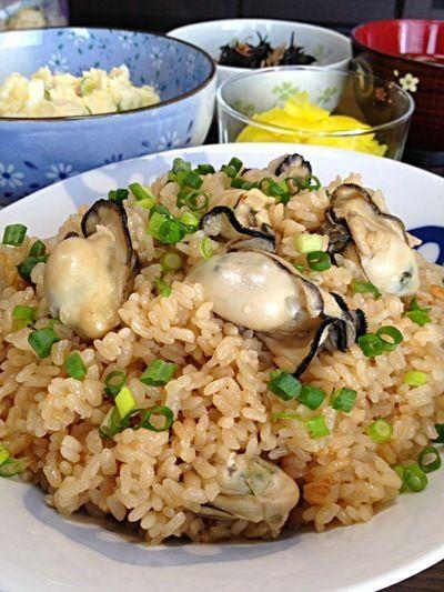 牡蠣の炊き込みごはんです☆ by ひまわりさん | レシピブログ - 料理 ...