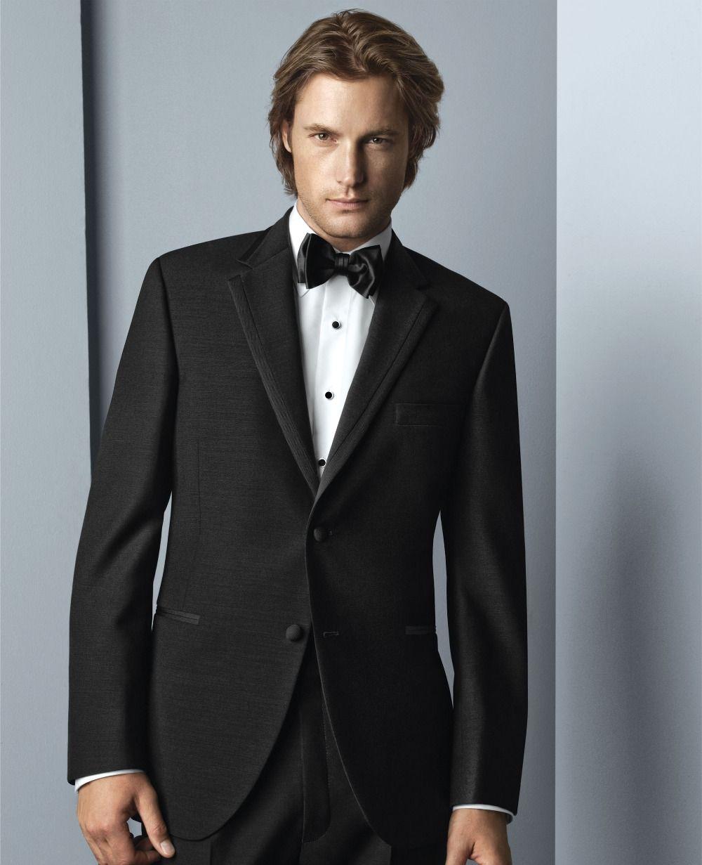 W:71 jacket+pants+tie United New Arrivals Blue Mens Suits Groom Tuxedos Groomsmen Wedding Party Dinner Best Man Suits