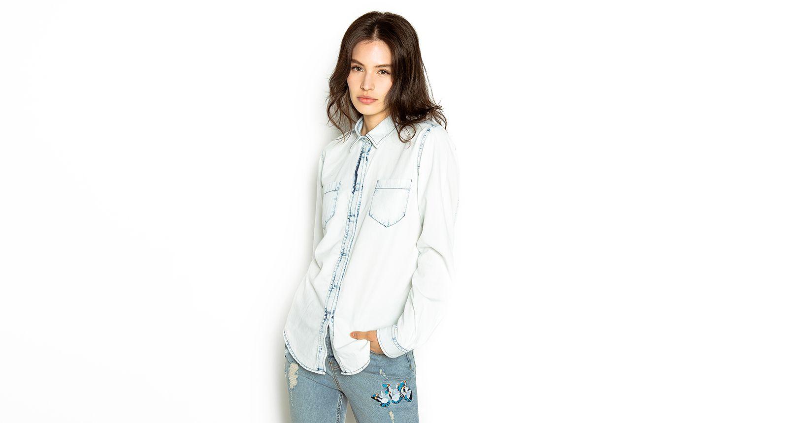 C&A Camisa de mezclilla - cyamoda