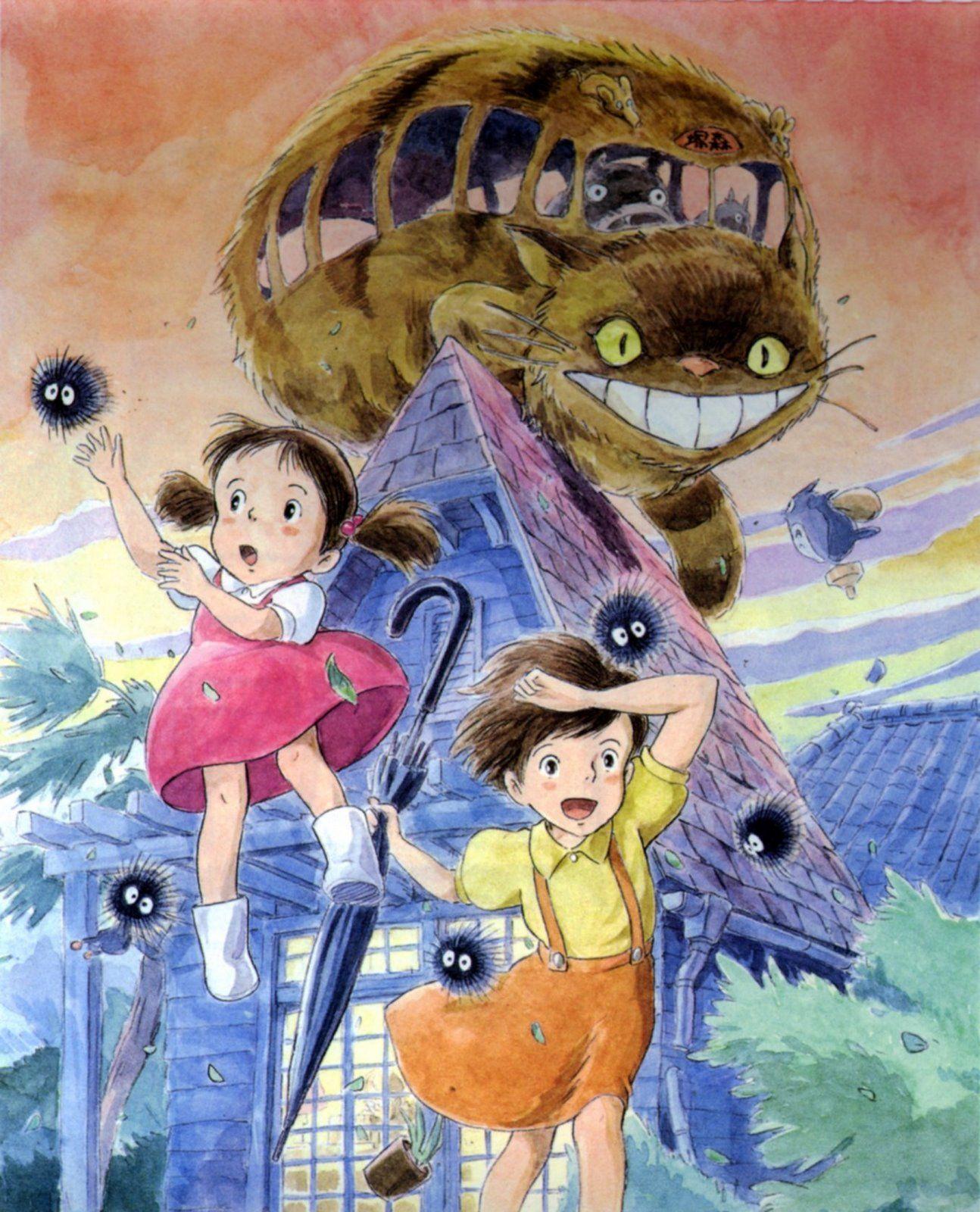 /My Neighbor Totoro/124440 Zerochan Hayao Miyazaki