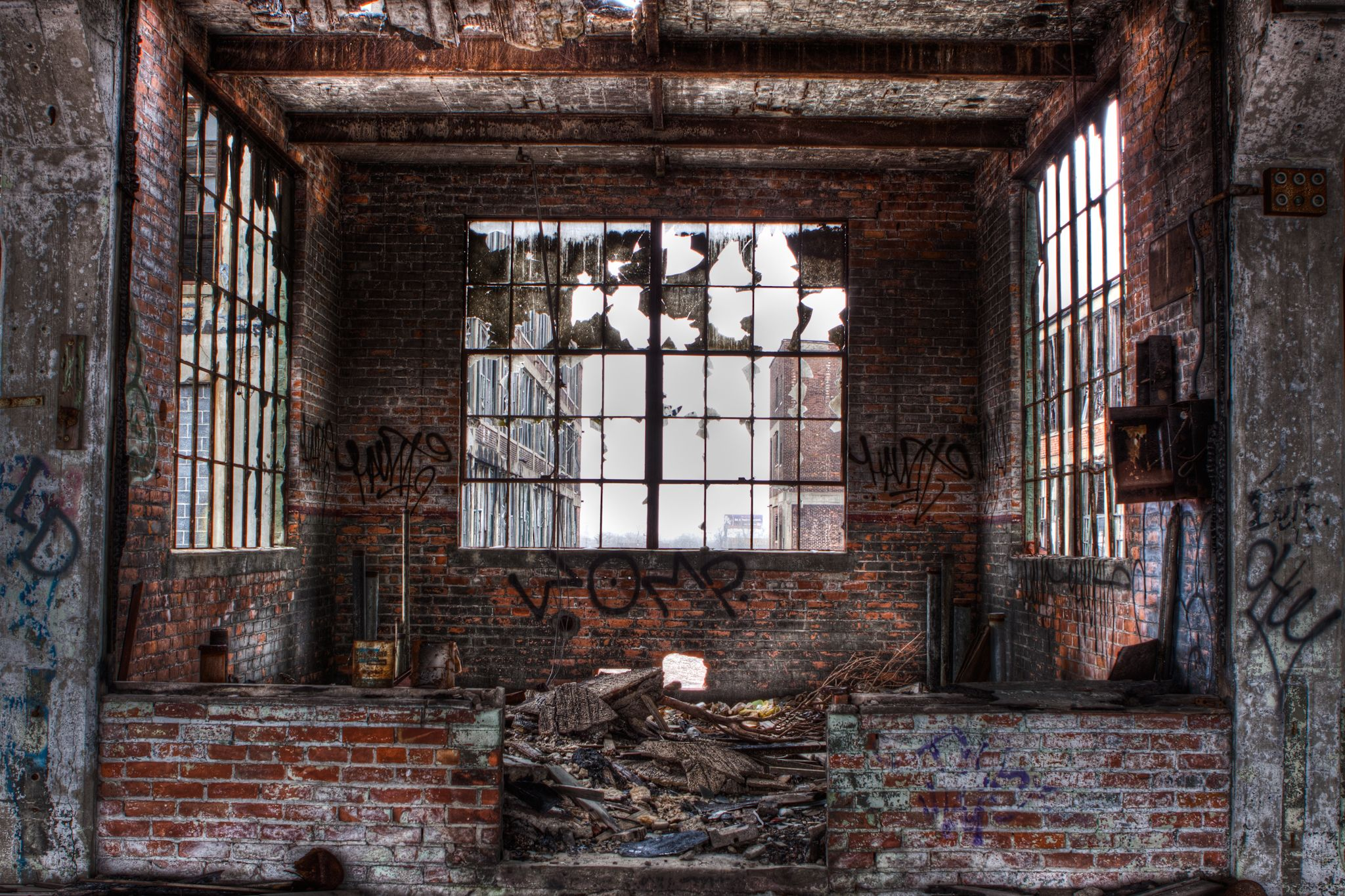 detroit station windows - Google Search