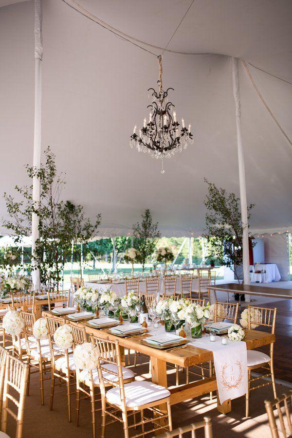 Modern Backyard Wedding | Elegant backyard wedding, Modern ...