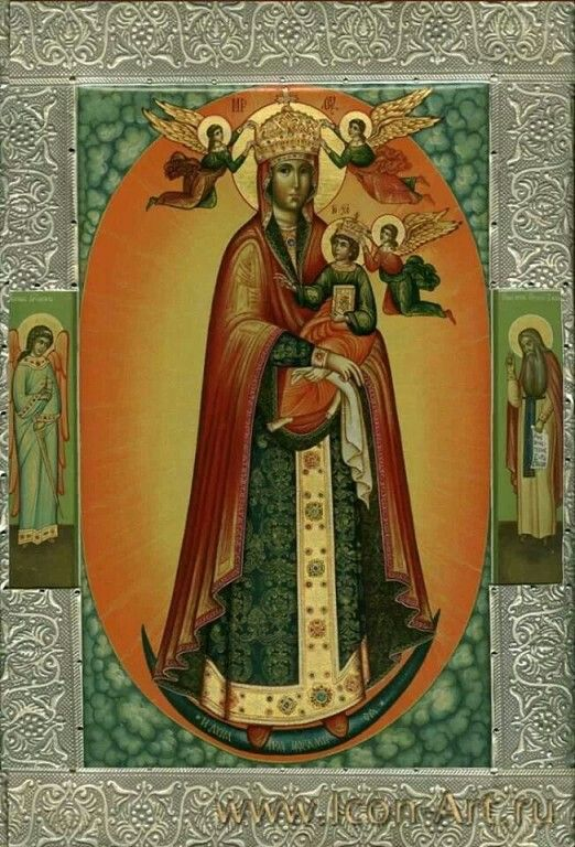 Our Lady's Icon 'Grace Sky'