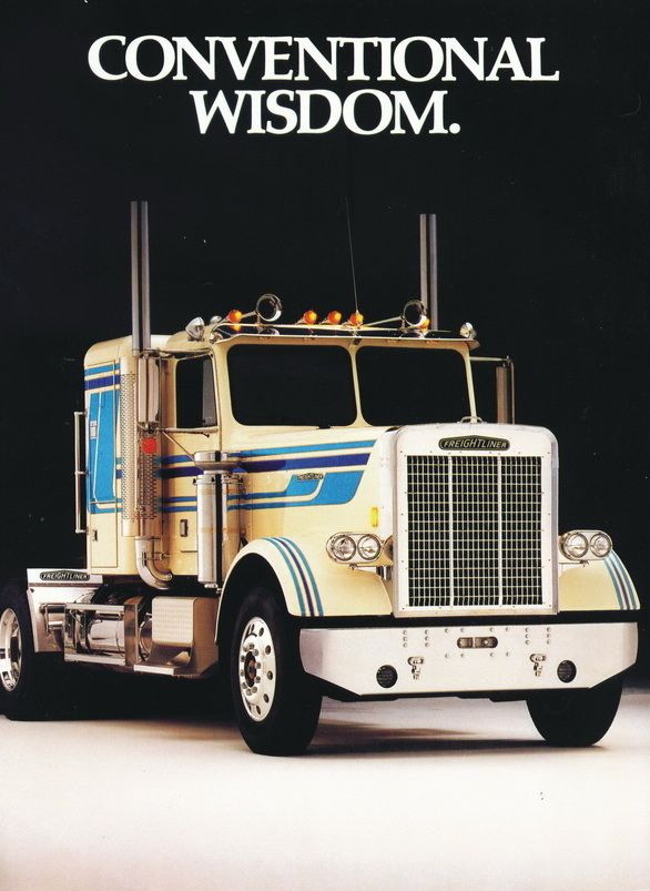 1980 White Freightliner Conventional