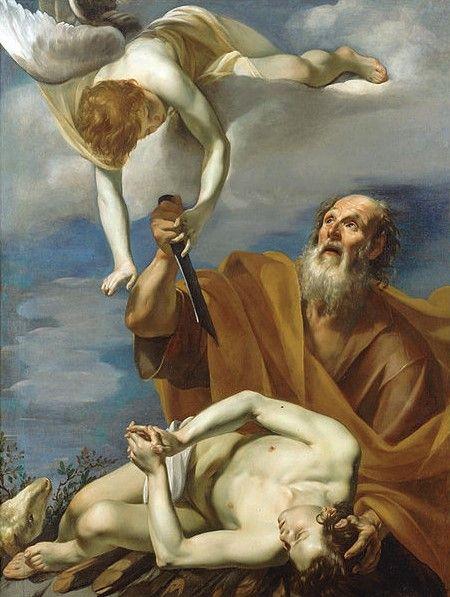 212 Riminaldi Orazio Il Sacrificio Di Isacco 1620 30
