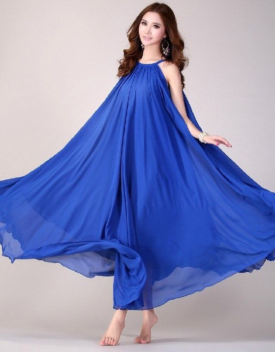 45d6c331f5f0 Wedding Party Dress Boho Holiday Beach Maternity Maxi Dress