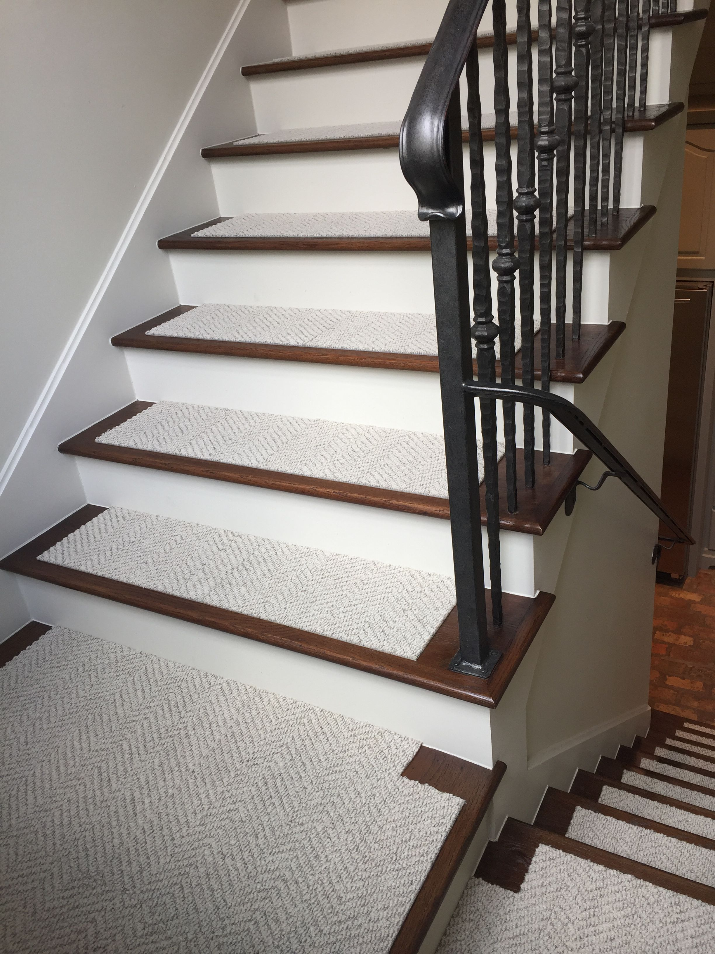 Use Flor Carpet Tiles On Your Stairs Make Them Simply | Carpet Tiles For Steps