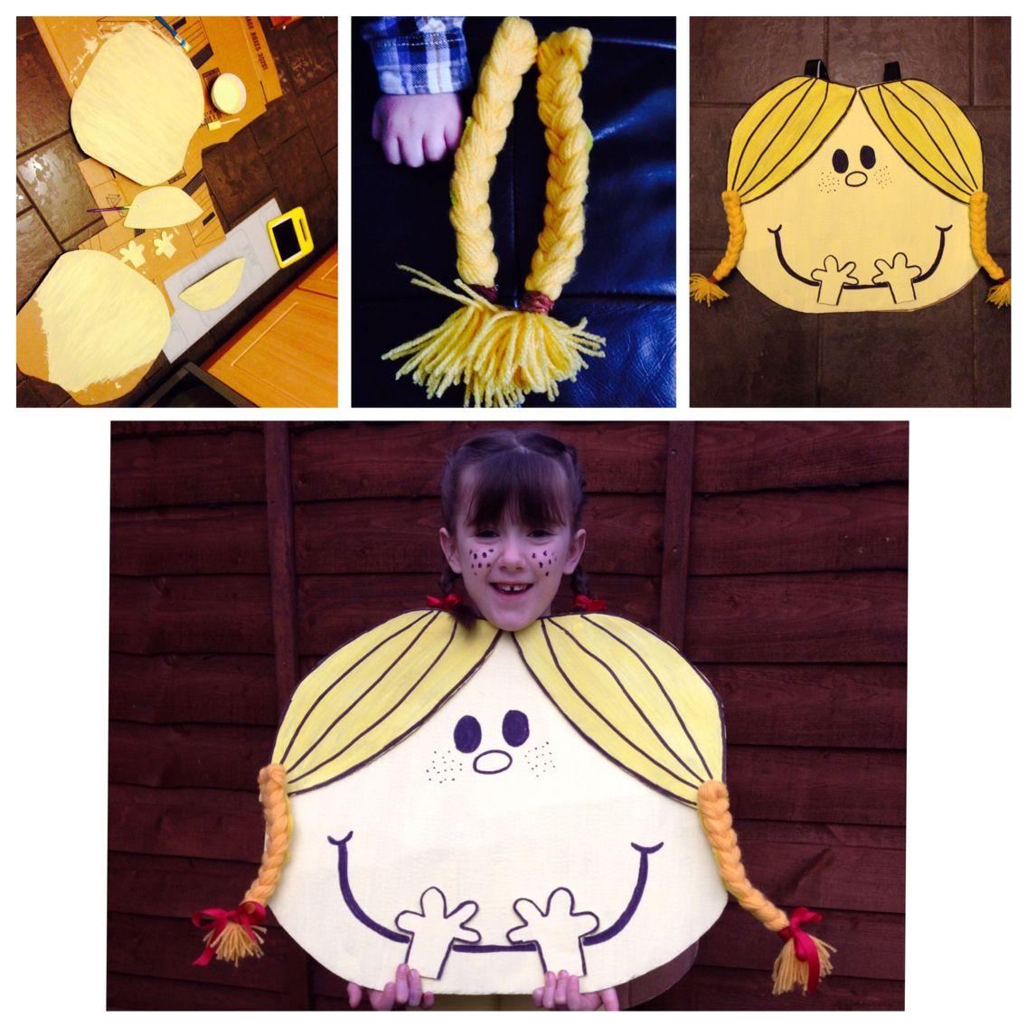 how to make little miss sunshine costume