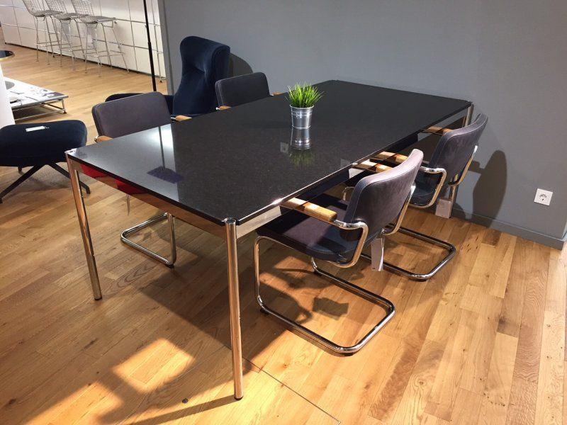 Usm Haller Granit Tisch Nero Assoluto 68 Rabatt Designermobel