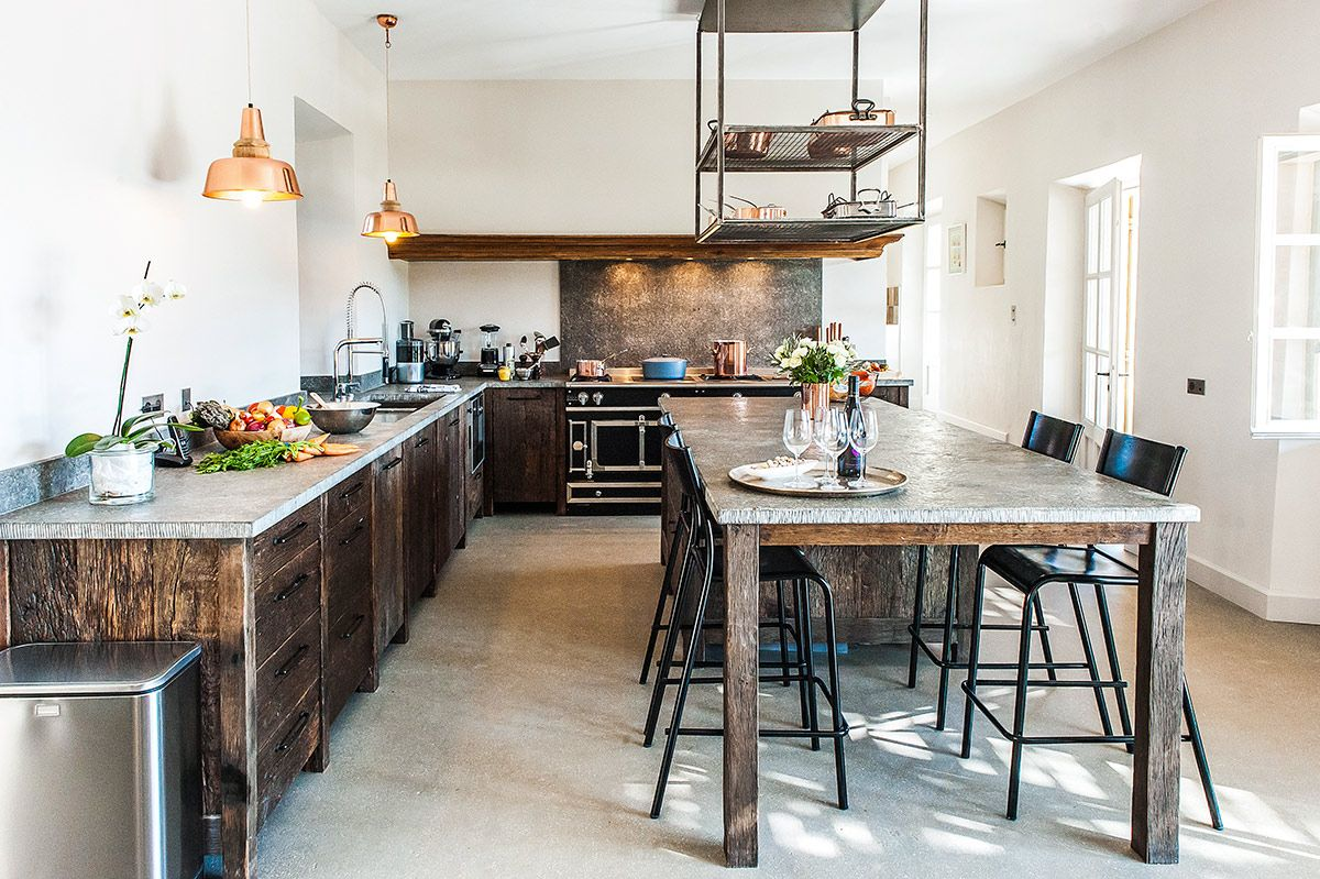 Mas Du Fer A Cheval French Country Interiors Holiday Kitchen Country Kitchen