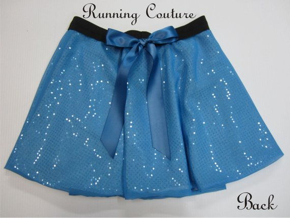 7496ed76e9 Wendy Darling inspired blue Sparkle Running Women's round skirt Tiger Lily,  Tinkerbell, Peter pan