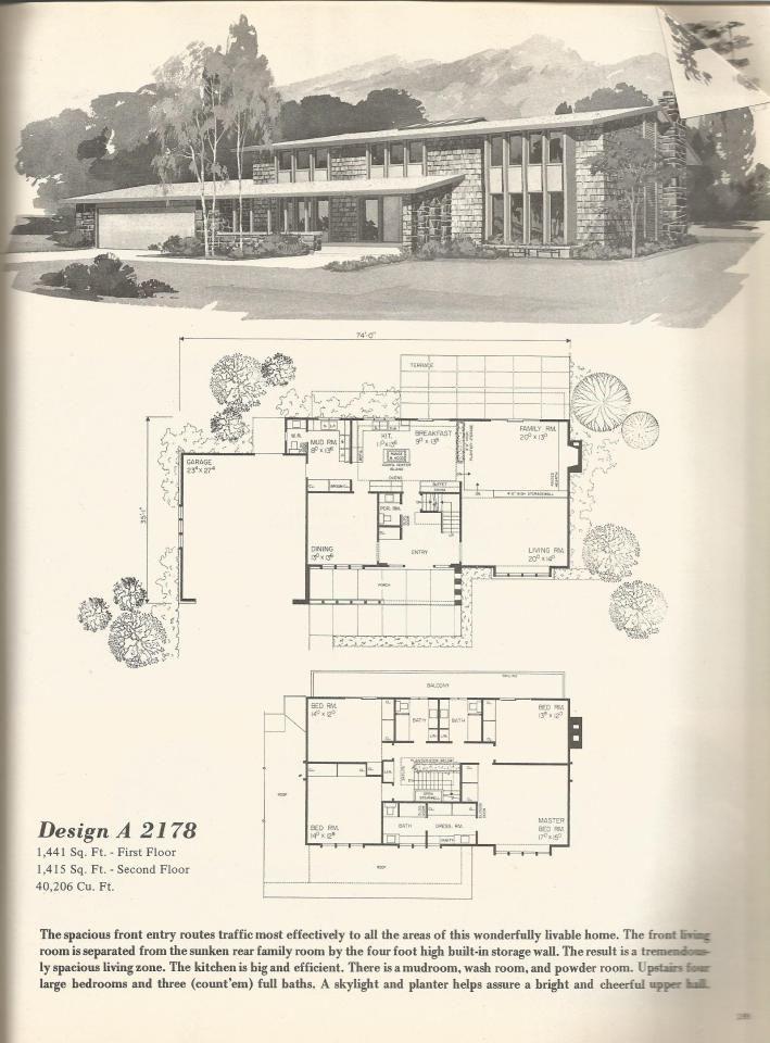 Vintage House Plans 2178 Vintage House Plans House Plans Vintage House