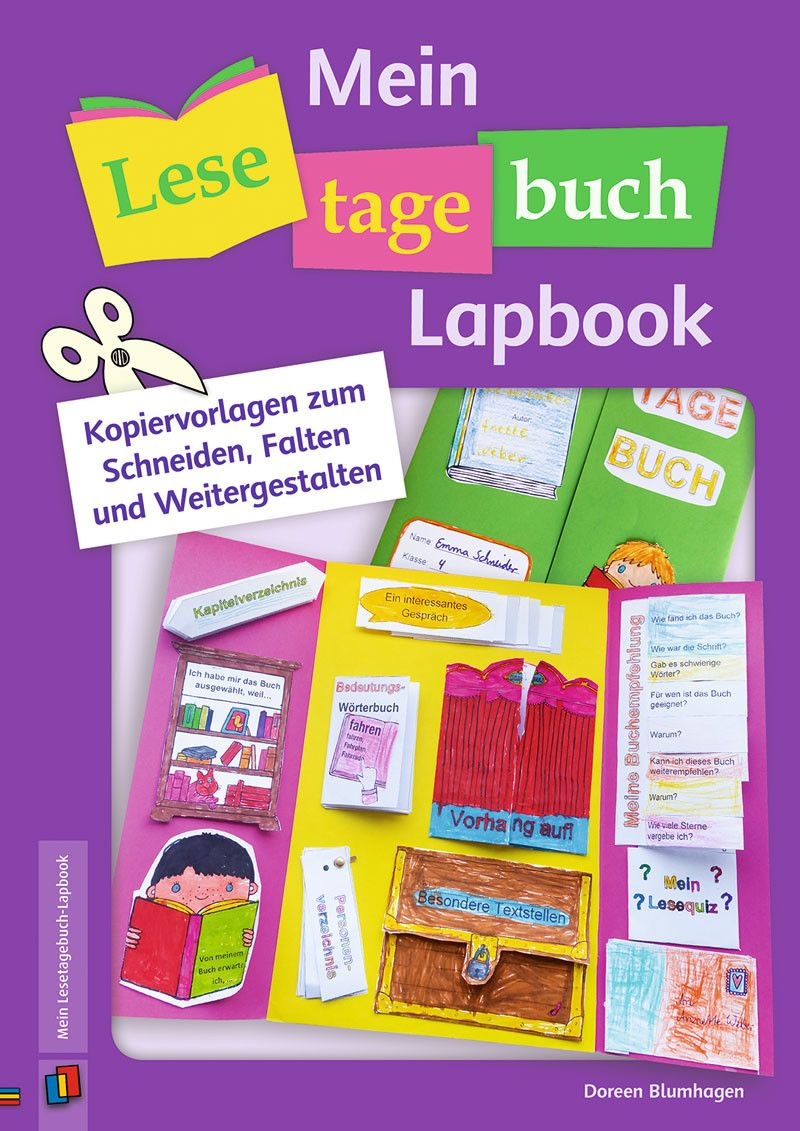 mein lesetagebuch lapbook lapbooks lesetagebuch leserolle und lesen. Black Bedroom Furniture Sets. Home Design Ideas