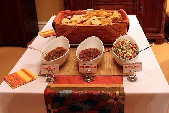 Mexican Buffet Dinner Party. Make-ahead recipes and ...