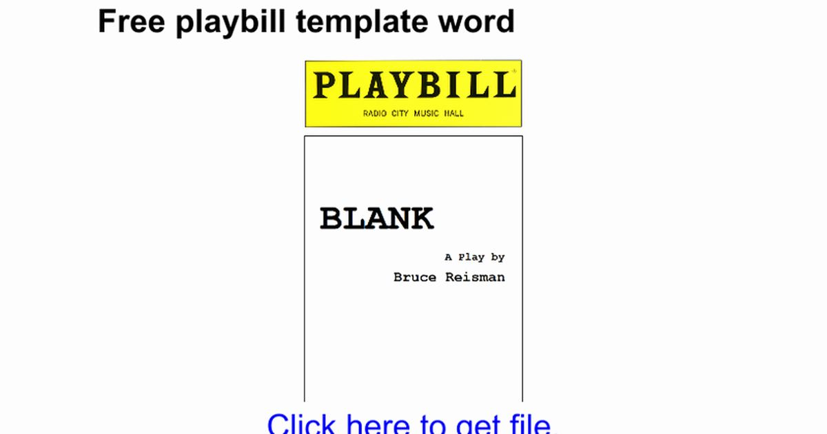 Free Playbill Template Awesome Free Playbill Template Word Google Docs Playbill Templates Word Template