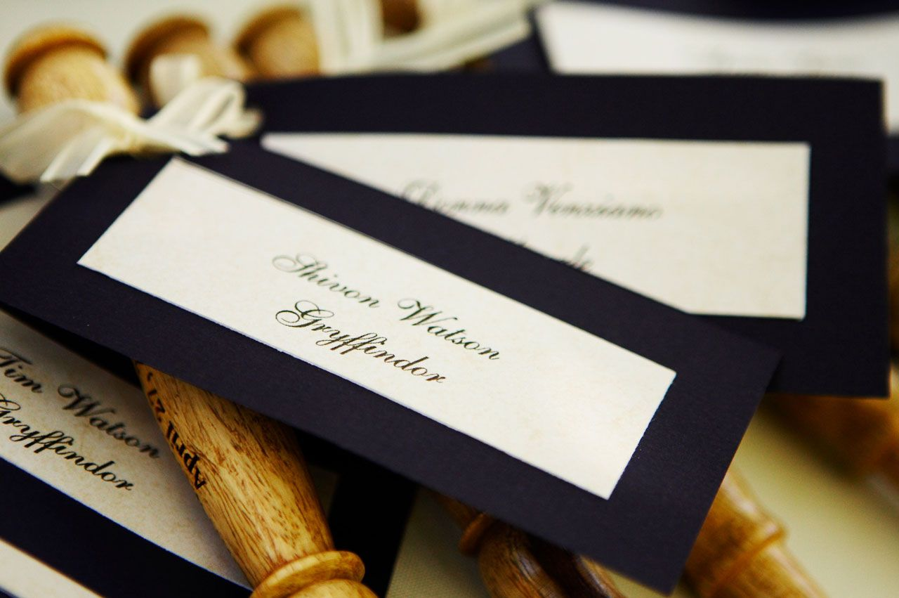 Harry Potter Theme Wedding: Christine | Harry Potter inspired ...