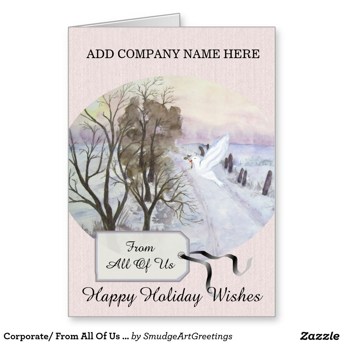 Corporate/ From All Of Us / Happy Holiday Wishes Card | Support ...