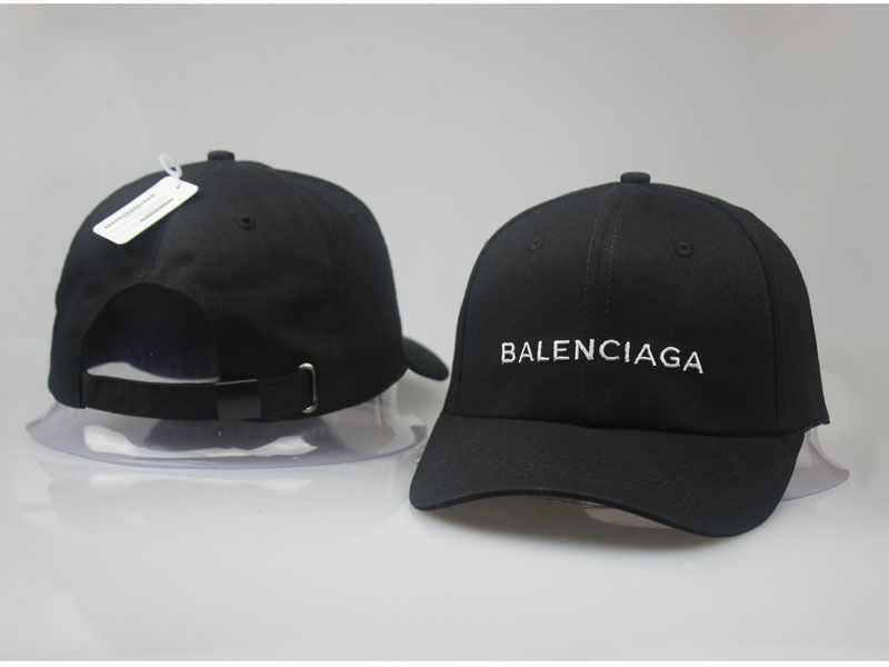 c09ad77ff01 Men s   Women s Balenciaga Classic Balenciaga Embroidered Logo Baseball Hat  - Black   White