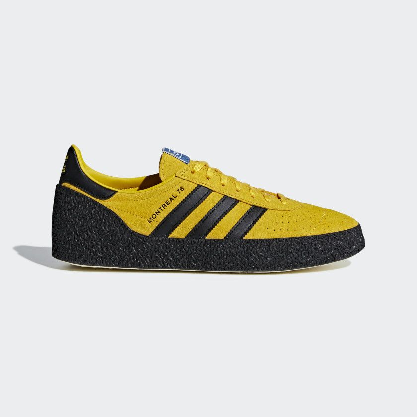 Montreal 76 Shoes Bold Gold Core Black Cream White