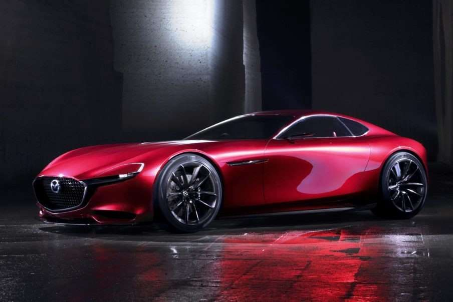 """The Mazda RX-VISION was named """"Most Beautiful Concept Car of the Year"""" at the…"""