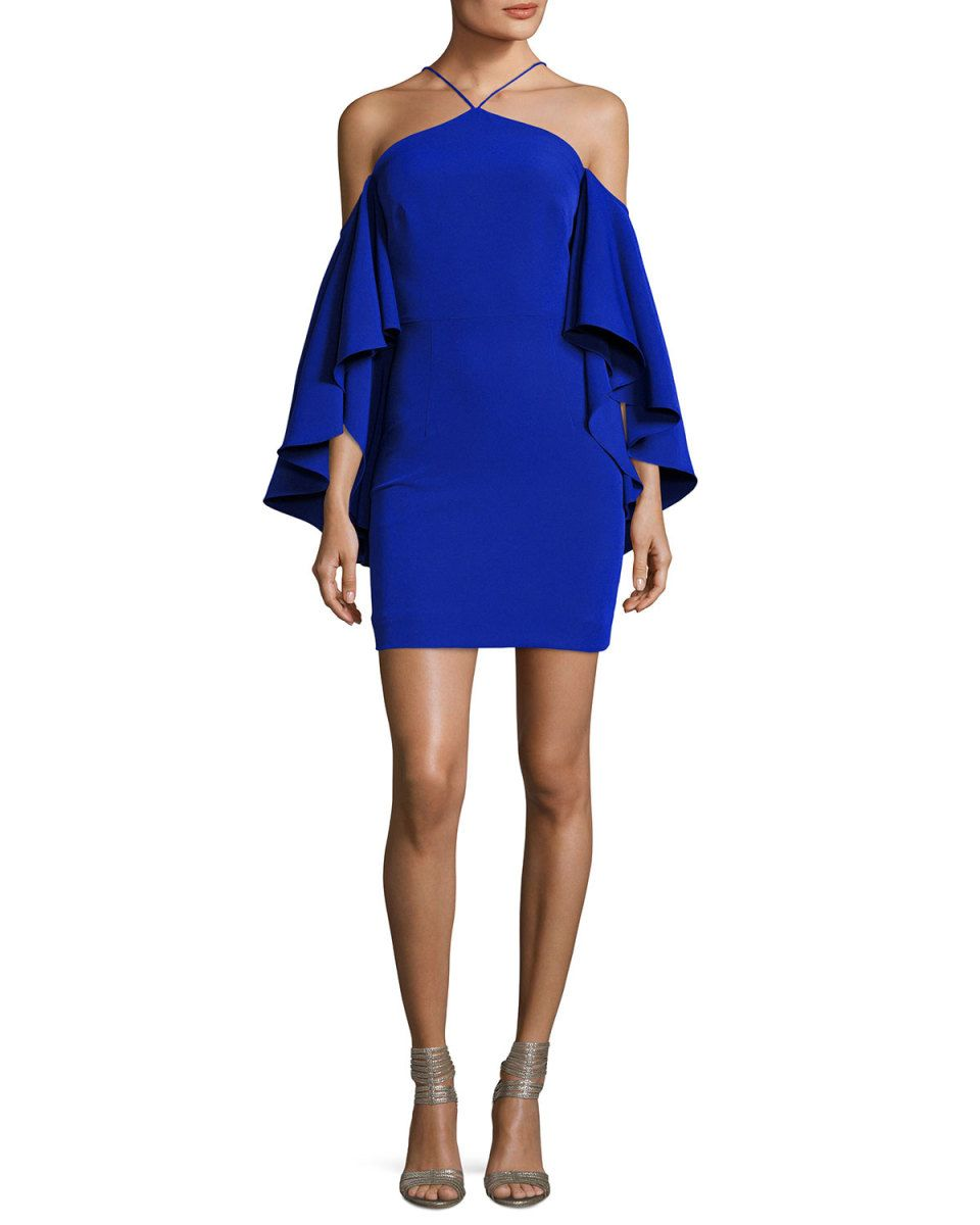 Milly Chelsea Cady Cocktail Dress, Cobalt | Cobalt, Chelsea FC and ...