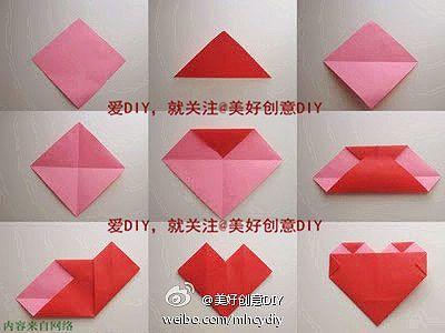 corazon origami | DIY & Crafts that I love | Pinterest | Origami ...