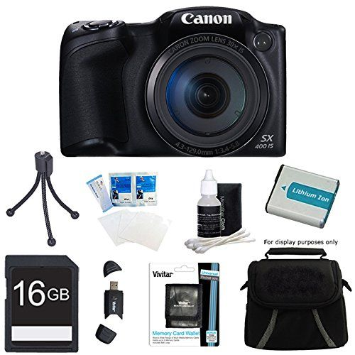 Canon Powershot Sx400 Is Black Digita For Only 199 00 Hd Digital Camera Digital Camera Powershot