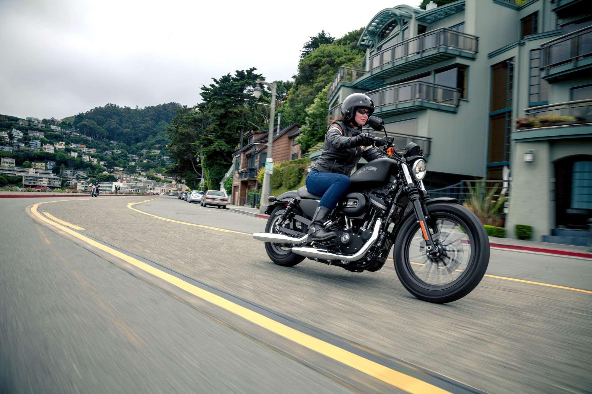 harley davidson sportster xl 883 n iron naked bike. Black Bedroom Furniture Sets. Home Design Ideas