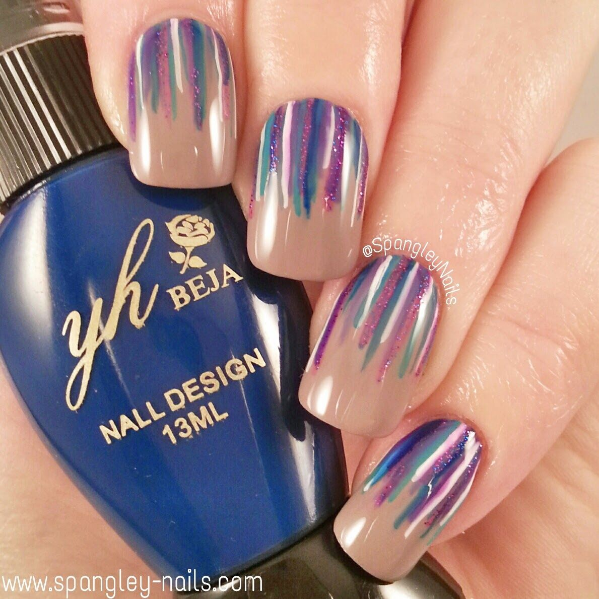 Spangley Nails Uk Nail Art Blog Review Simply Spoiled Beauty
