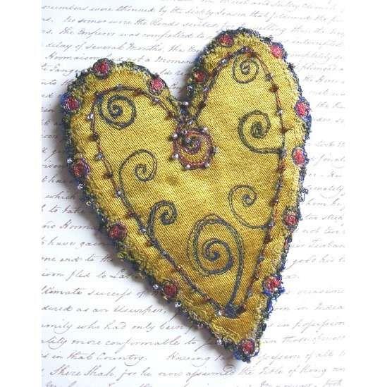 Vintage Valentine Be Mine Valentine Pinterest Fabric Hearts