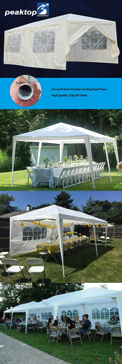 Marquees and Tents 180994 Peaktop® 10 X 20 Heavy Duty Party Tent Gazebo Wedding & Marquees and Tents 180994: Peaktop® 10 X 20 Heavy Duty Party Tent ...