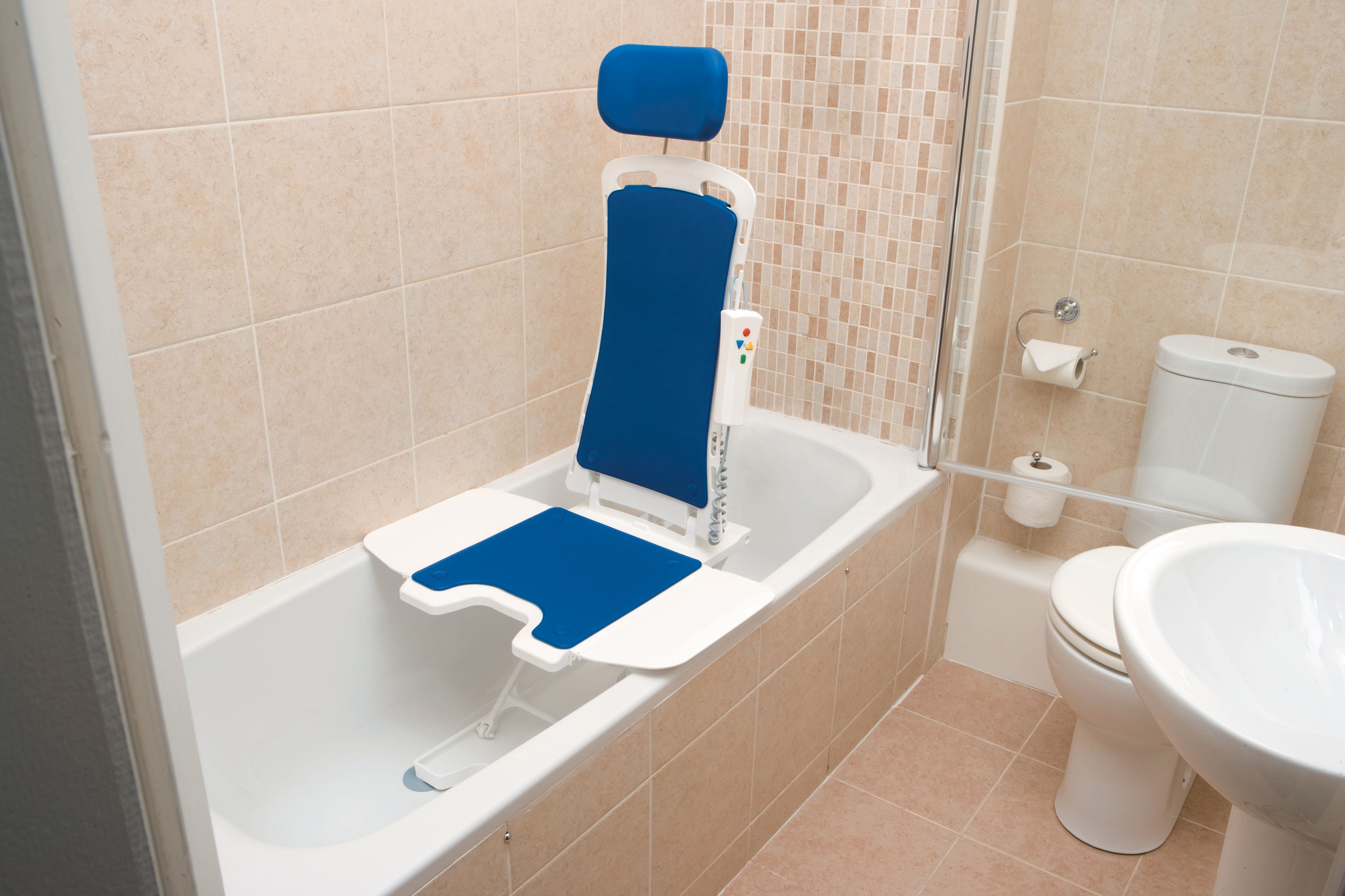 A bath lift, like the Bellavita can bring back the joy of taking a ...