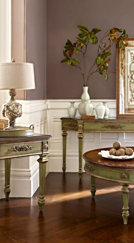 Drawing from Neoclassical French design, our exclusive Neoclassic Accent Tray Table dignifies any room with restrained ornamentation and well-considered functionality.