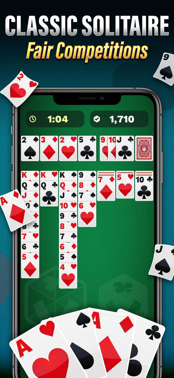 ‎Solitaire Cube Card Game on the App Store in 2020 Card