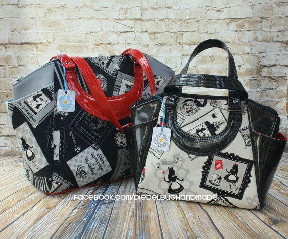 Swoon Patterns: Annette Satchel Handbag & Commuter Tote - PDF Travel ...