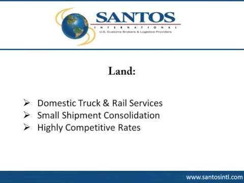 Freight Quote Delectable Santos International Provides Freight Forwarding Services In Laredo . Review