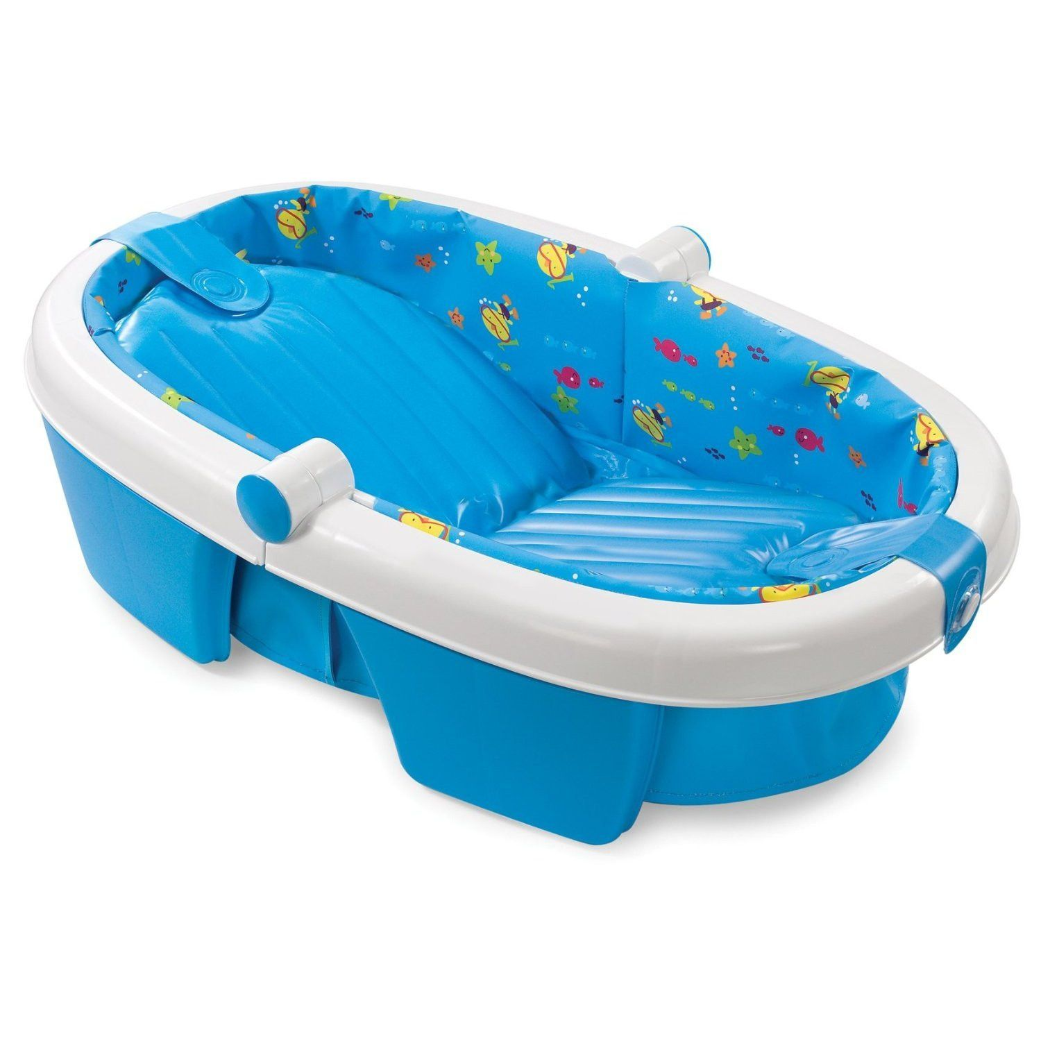 Summer Infant Newborn-to-Toddler Fold Away Baby Bath - Blue | Products
