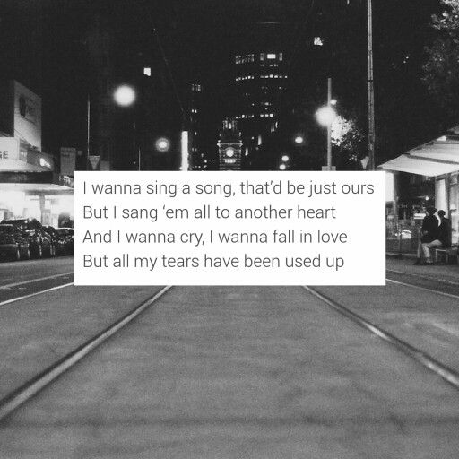 Tom Odell Another Love With Images Song Quotes Tom Odell
