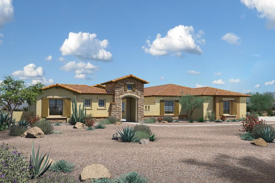 The Cholla Is A Luxurious Toll Brothers Home Design Available At Saguaro Estates View This